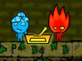 Игра Огонь и Вода В Лесном Храме 4