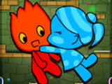 Красный Мальчик и Синяя Девочка