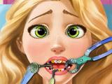 Игра Рапунцель Лечит Зубы