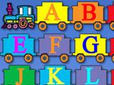 Игра Паровозик с Алфавитом